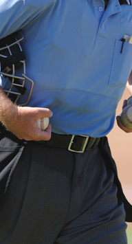 Shirt Lock for Sports Officials, Umpires, Referees
