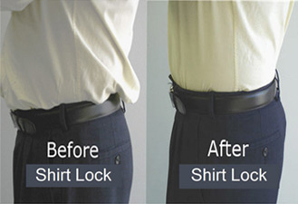 Shirt Lock: Alternative to Shirt Stays